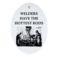 WELDERS Ornament (Oval)