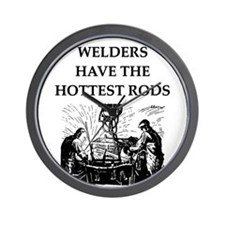 WELDERS Wall Clock