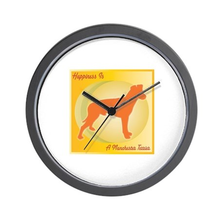 Manchester Happiness Wall Clock
