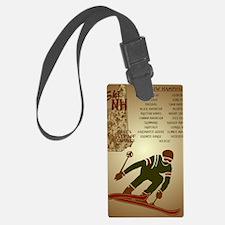 SkiNHPosterPostcard Luggage Tag