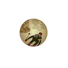 SkiNHPosterPostcard Mini Button