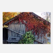 old_barn_sticker Postcards (Package of 8)