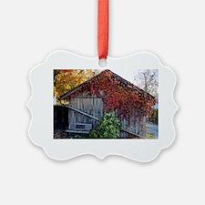 old_barn_card Ornament