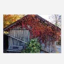 old_barn_Lg_framed Postcards (Package of 8)