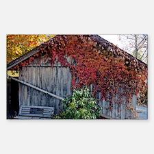 old_barn_Lg_framed Decal
