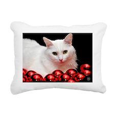 xmas_cat_calendar Rectangular Canvas Pillow