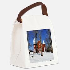 methodist_panel Canvas Lunch Bag