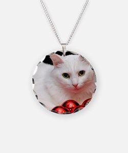 xmas_cat_rnd Necklace