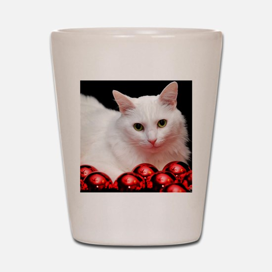xmas_cat_rnd Shot Glass