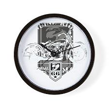 geniune rider(blk) Wall Clock