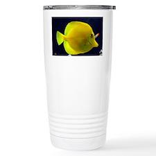 yellow_tang_card Travel Mug