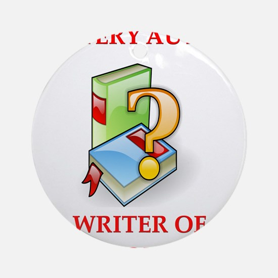 writer2.png Ornament (Round)