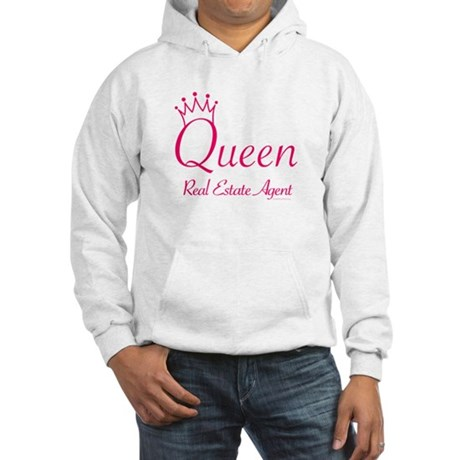 QUEEN (pink) Hooded Sweatshirt for any Realtor