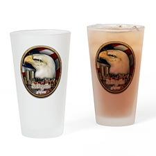 C E copy Drinking Glass