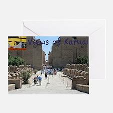 Karnak-cover_logo Greeting Card
