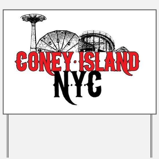 coney_island-nyc Yard Sign