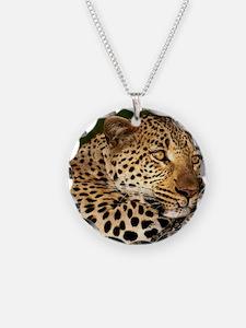 Leopard calander Necklace