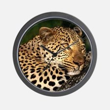 Leopard calander Wall Clock