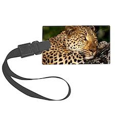 Leopard calander Luggage Tag