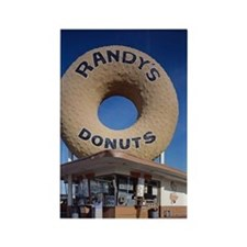 Randys Donuts Los Angeles Califor Rectangle Magnet