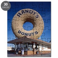 Randys Donuts Los Angeles California Puzzle