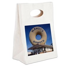 Randys Donuts Los Angeles Califo Canvas Lunch Tote