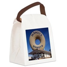 Randys Donuts Los Angeles Califor Canvas Lunch Bag