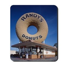Randys Donuts Los Angeles California Mousepad