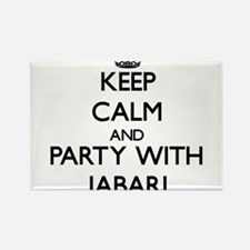 Keep Calm and Party with Jabari Magnets
