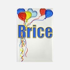 Balloons for Brice Rectangle Magnet