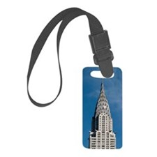 Chrysler Building spire Luggage Tag