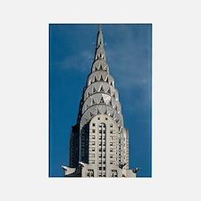 Chrysler Building spire Rectangle Magnet