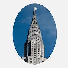 Chrysler Building spire Oval Ornament