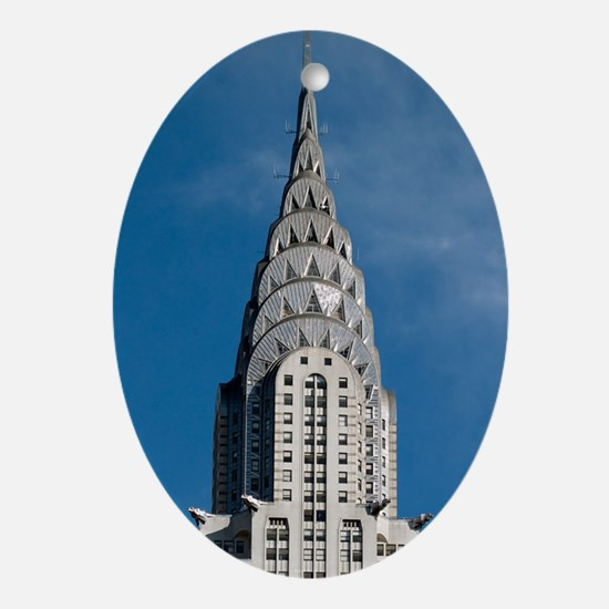 Chrysler Building spire Oval Ornament