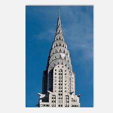 Chrysler Building spire Postcards (Package of 8)