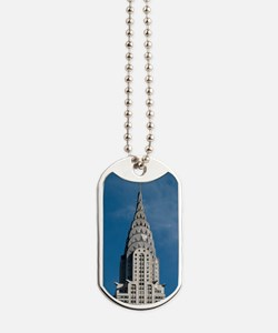 Chrysler Building spire Dog Tags