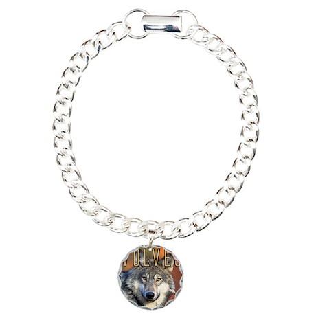 Wolves Wall Calendar Charm Bracelet, One Charm