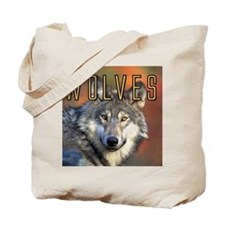 Wolves Wall Calendar Tote Bag