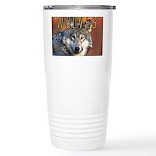 Wolves Wall Calendar Travel Coffee Mug