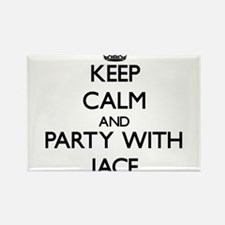 Keep Calm and Party with Jace Magnets