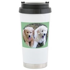 Golden Retriever Puppy Wall Cal Travel Mug