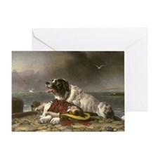 Landseer_Saved Greeting Card