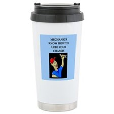 funny joke mechanics Travel Mug