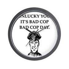 good cop bad cop poliice joke gifts apparel Wall C