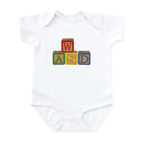 WASD Blocks Infant Bodysuit