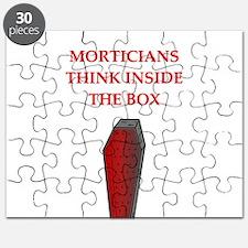 funny joke undertakers morticians Puzzle