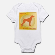 Pointer Happiness Infant Bodysuit