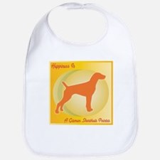 Pointer Happiness Bib