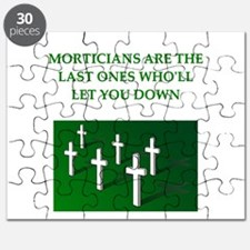 funny jokes morticians undertakers Puzzle