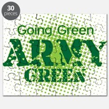 Going Green Army Puzzle